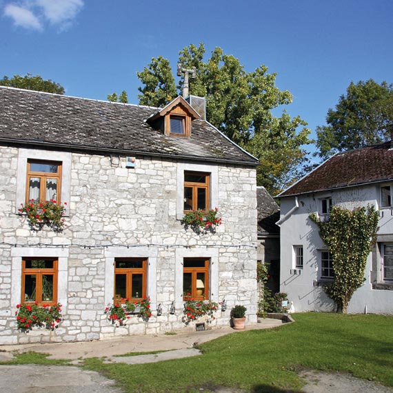 Maison en pierre de wallonie
